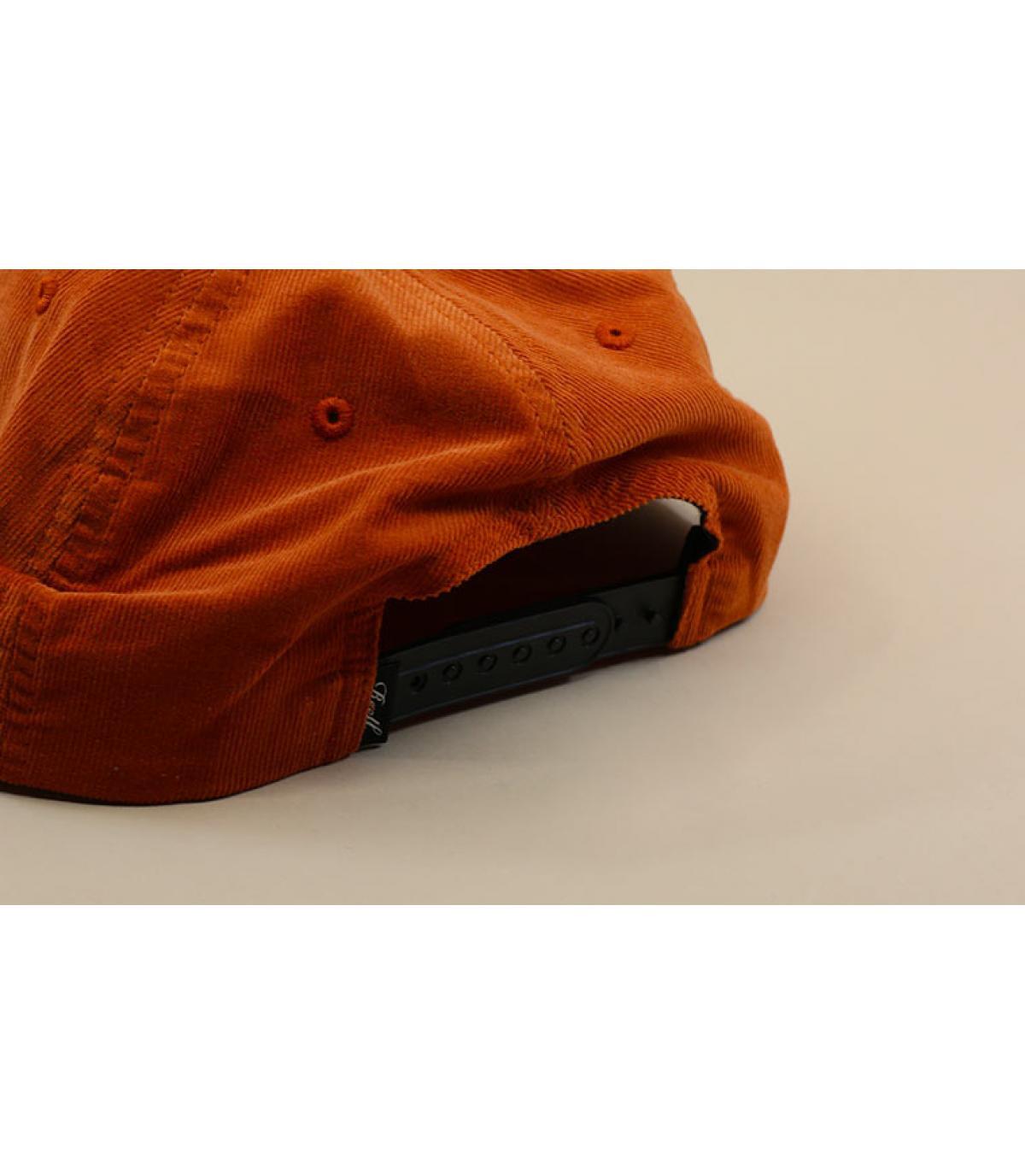 Detalles Flat 6 Panel orange rib cord imagen 5