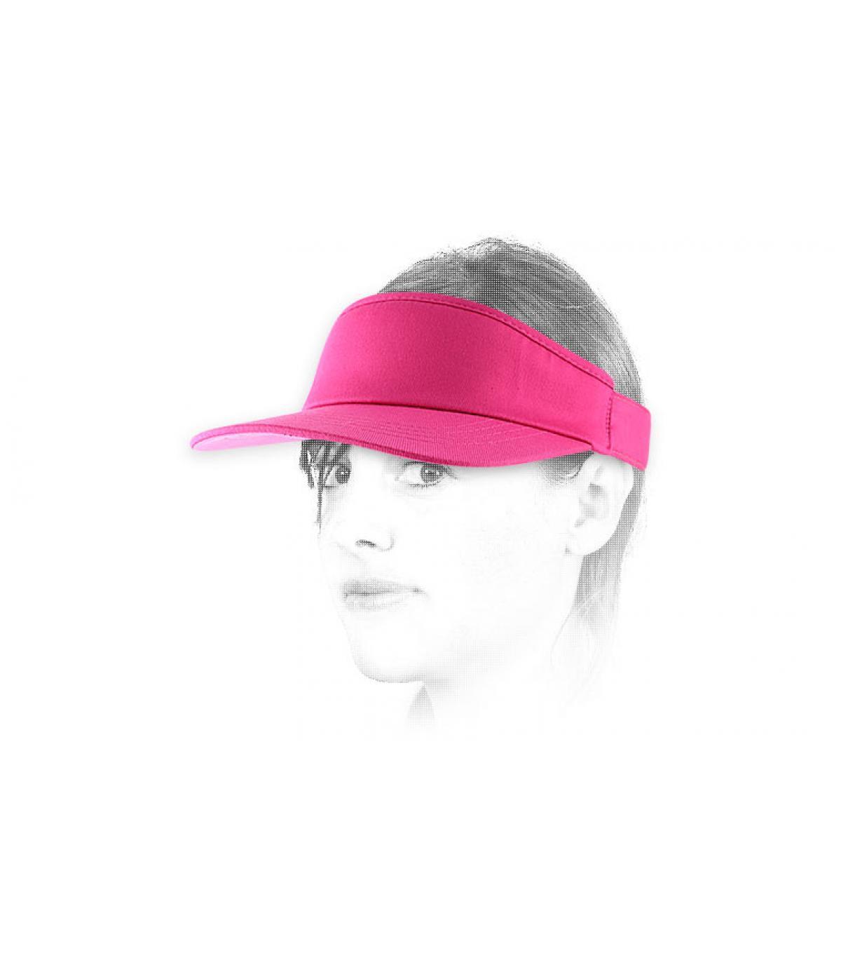 Visiera rosa flexfit wm