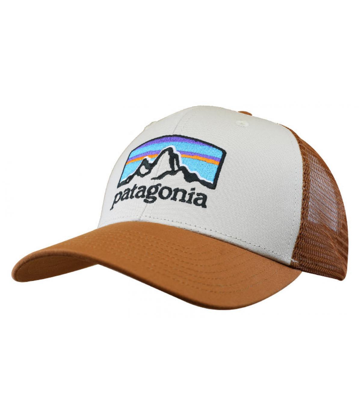 trucker Patagonia marrón