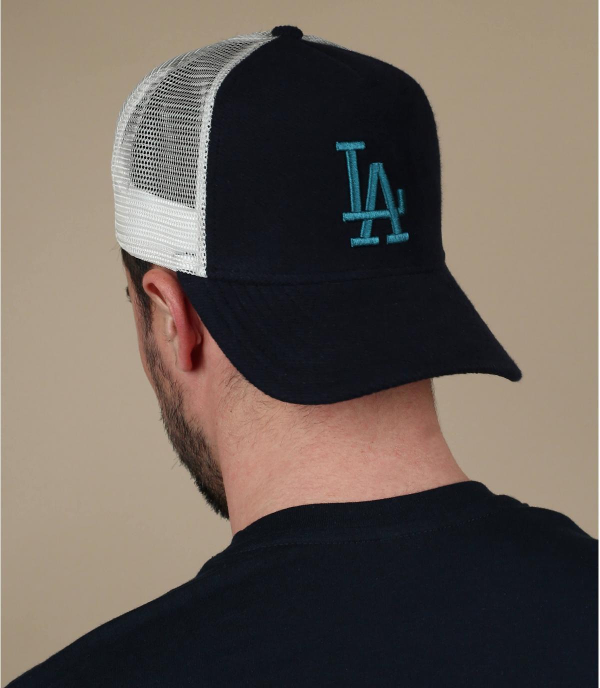 trucker LA azul