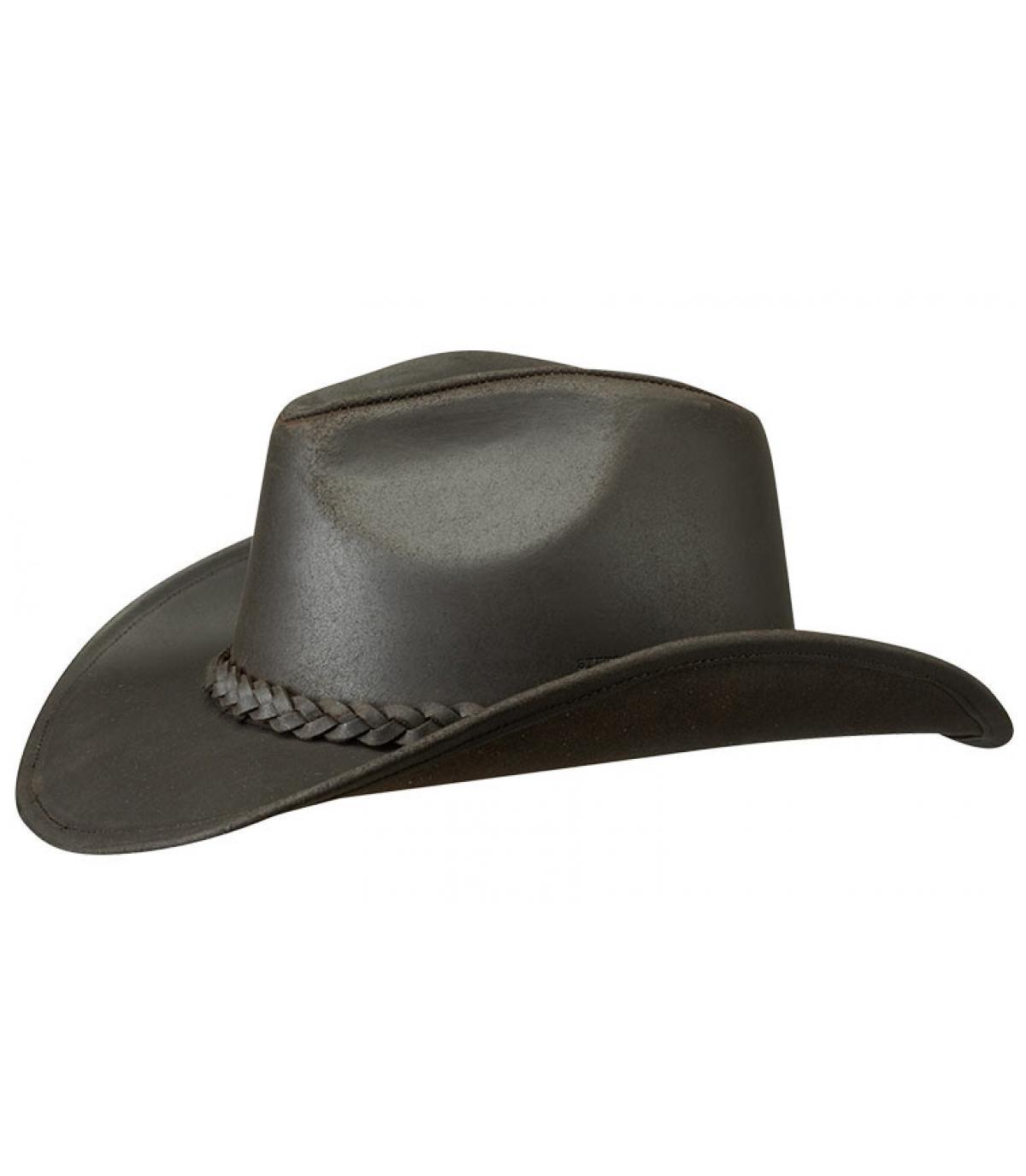 Mendota buffalo leather