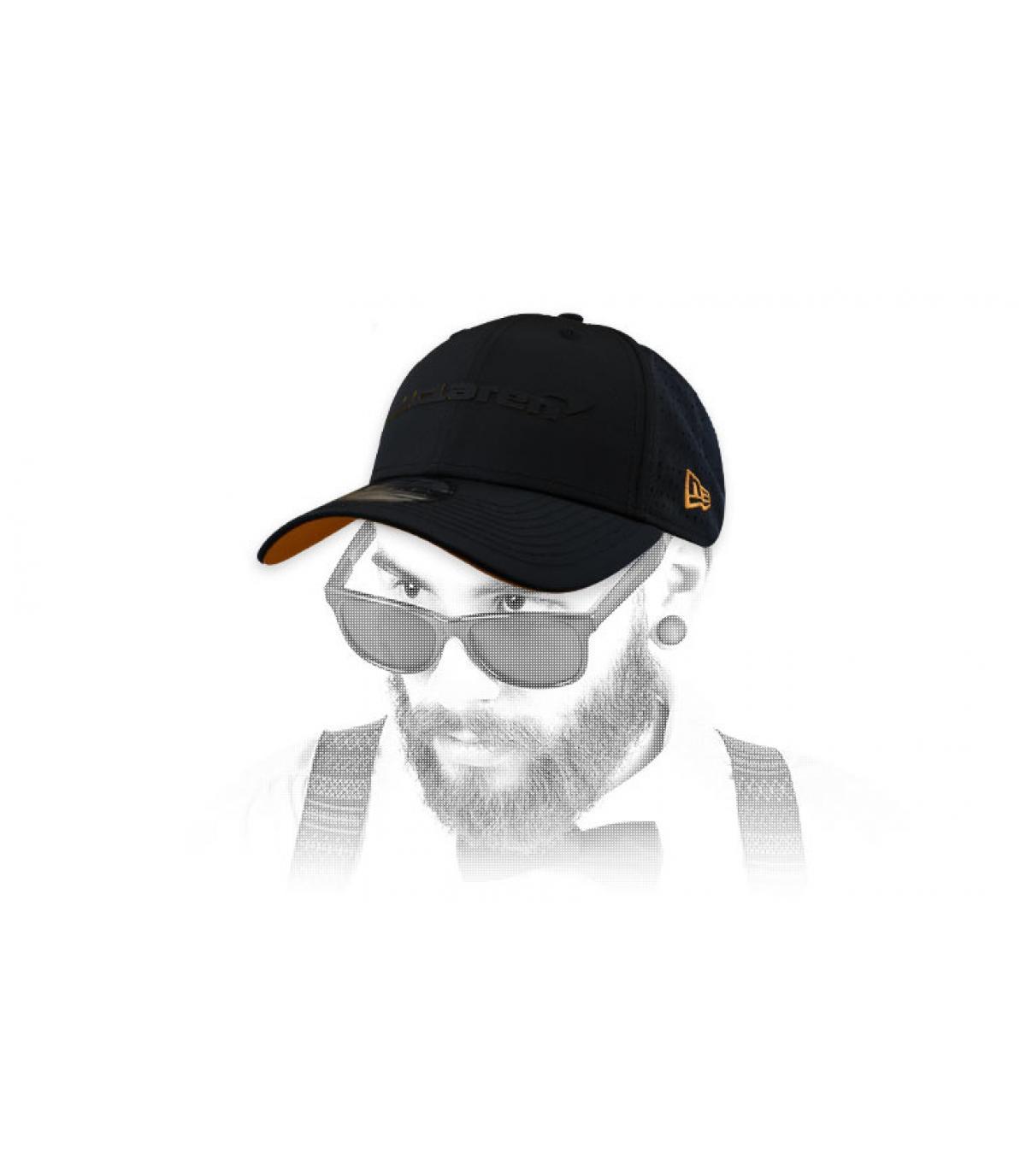 gorra McLaren negro