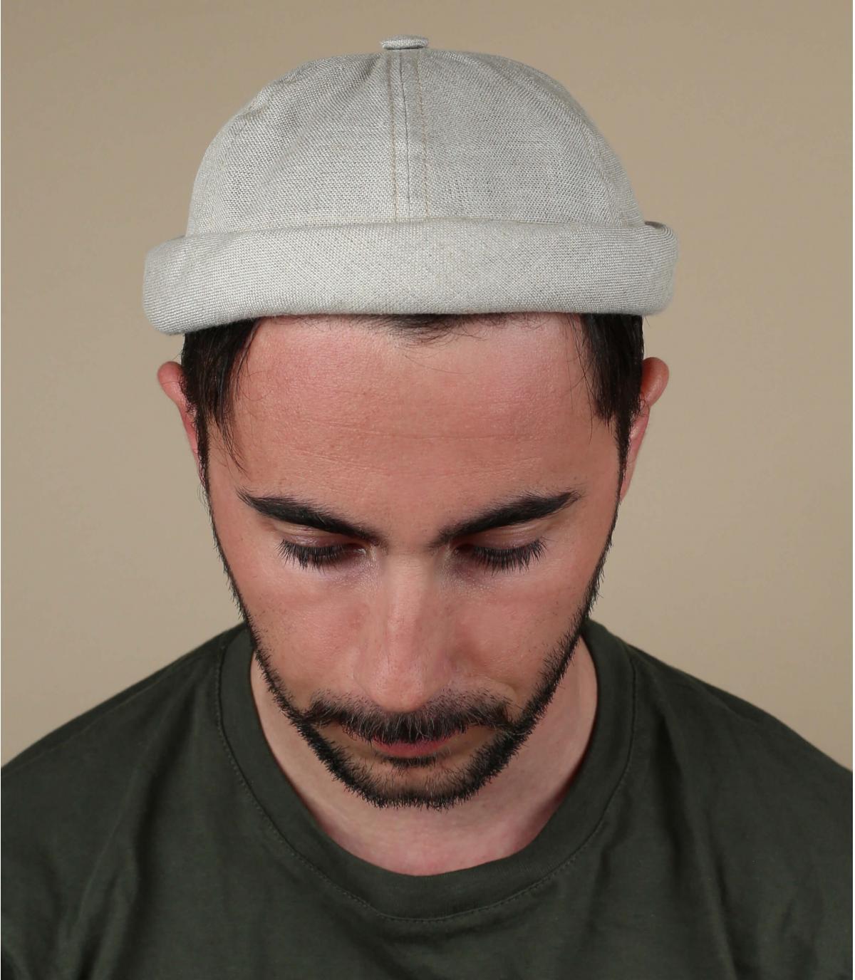 gorro docker lino beis Béton Ciré