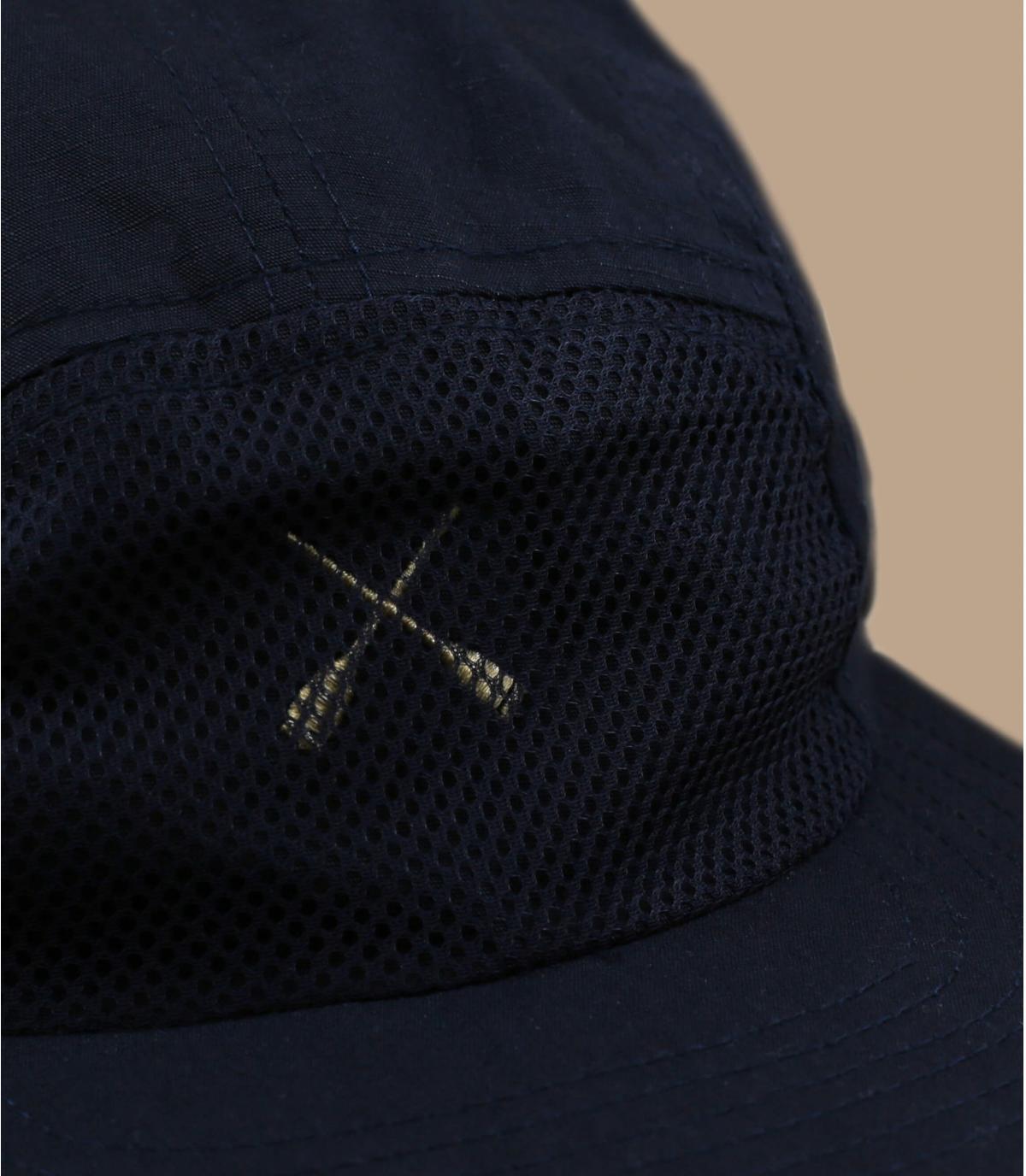 gorra 5 panel azul marino