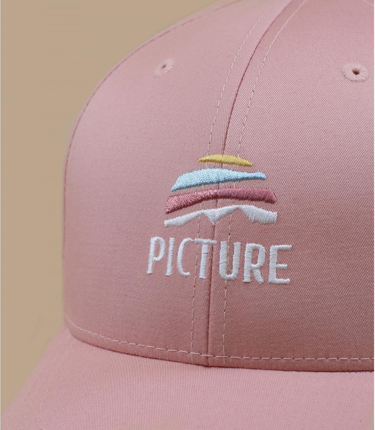 gorra Picture rosa