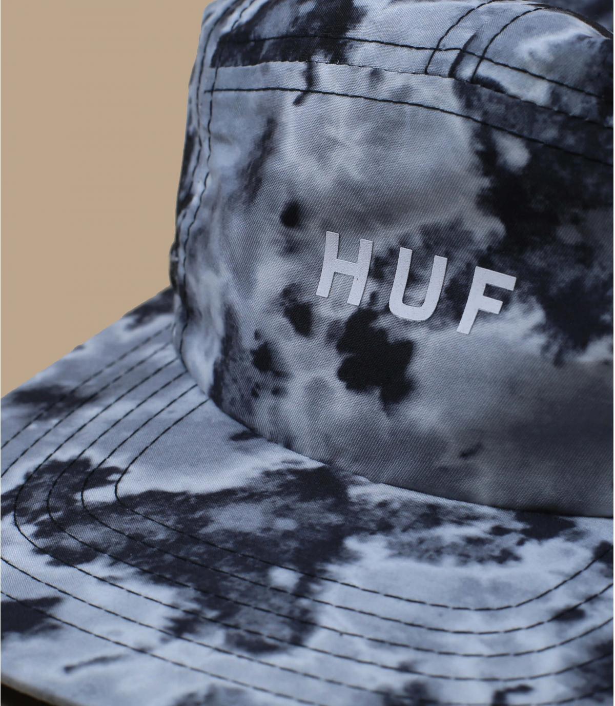 5 panel protector cuello Huf negro
