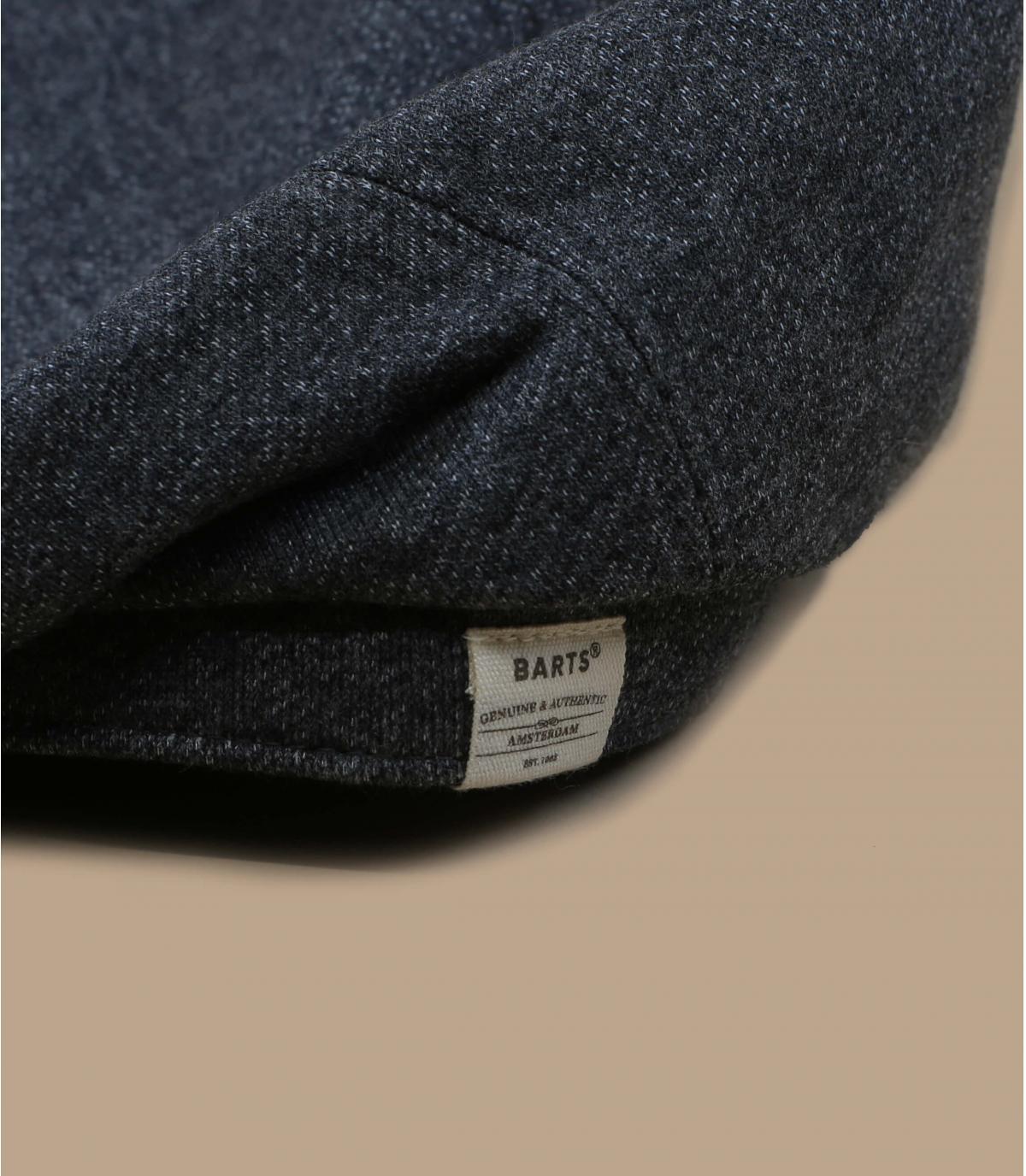 gorra gris algodón lino