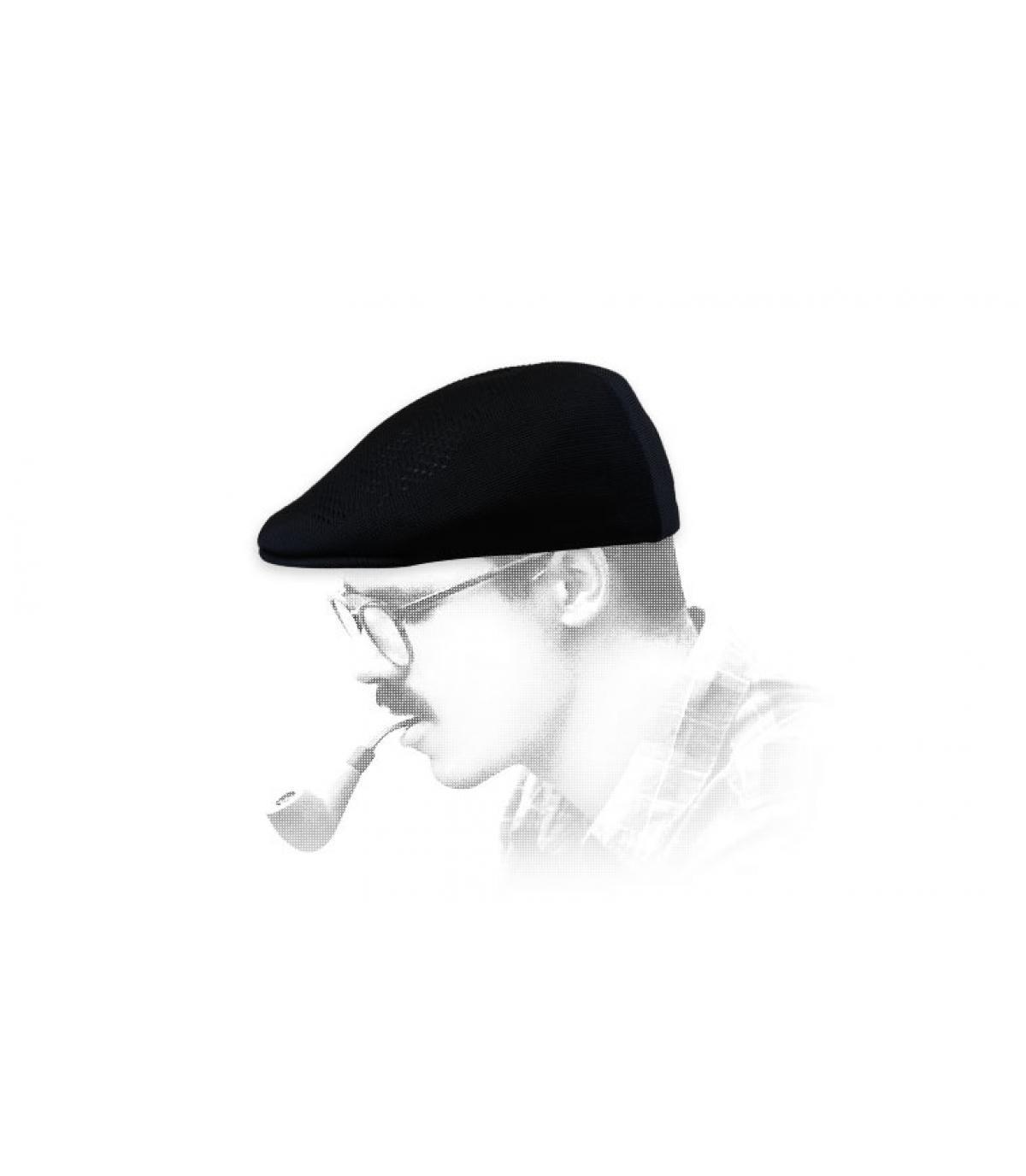 gorra negra verano Kangol