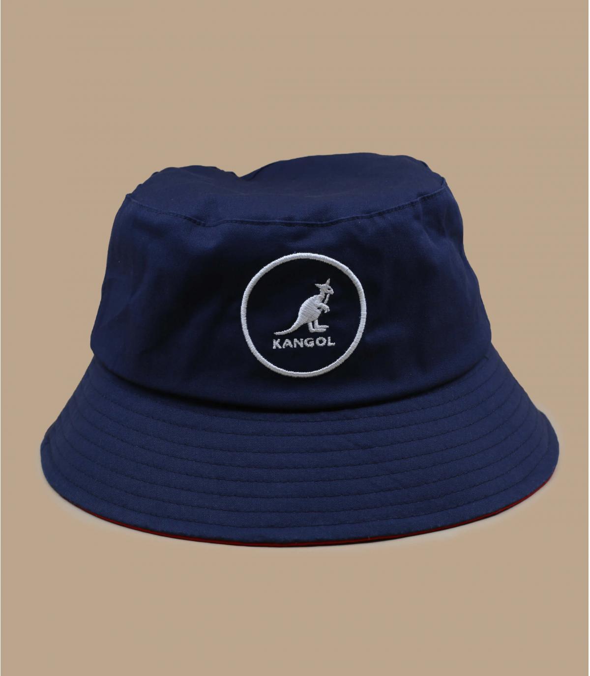 gorro pescador Kangol azul marino