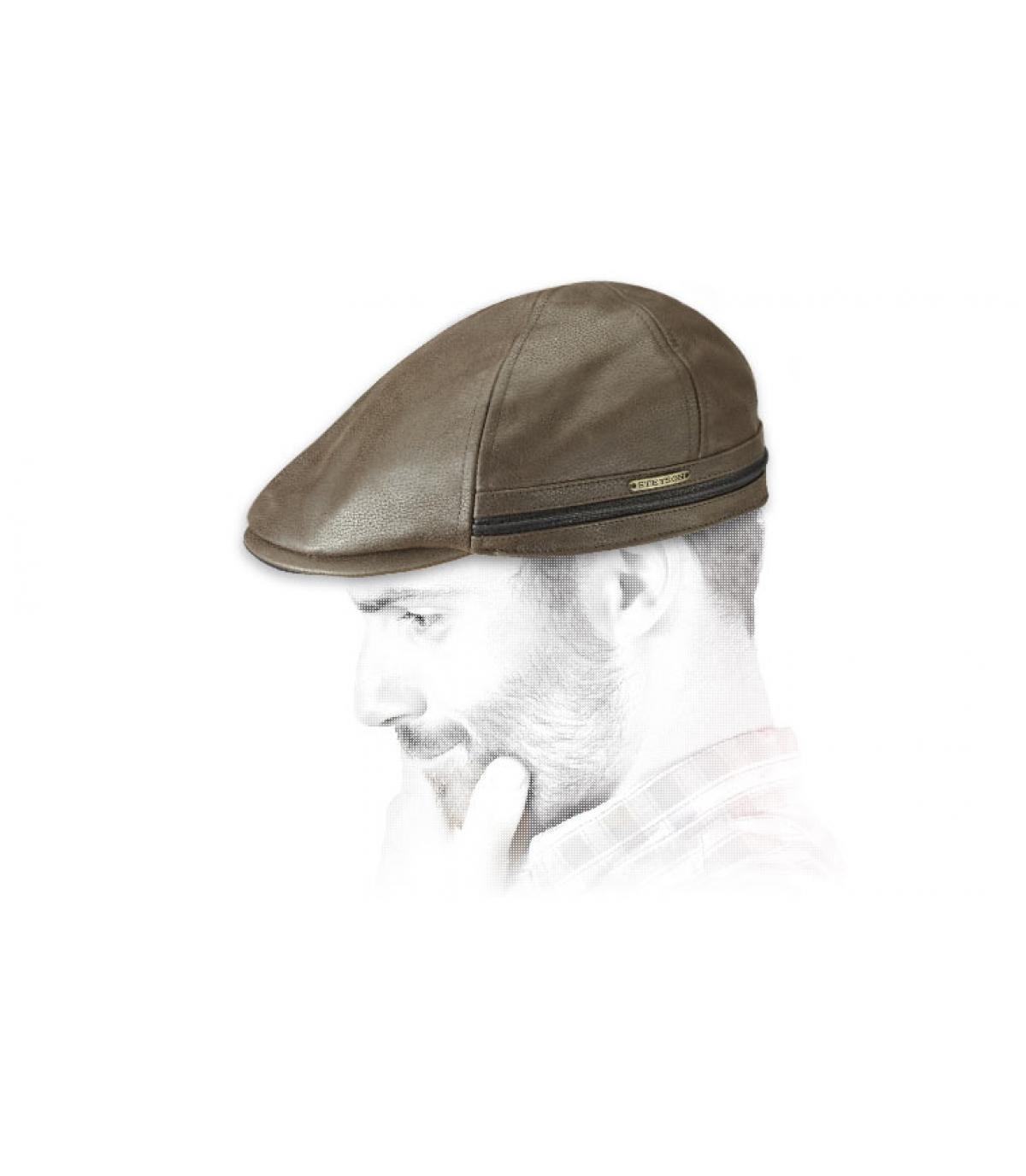 Detalles Redding Earflap Cowhide brown imagen 4