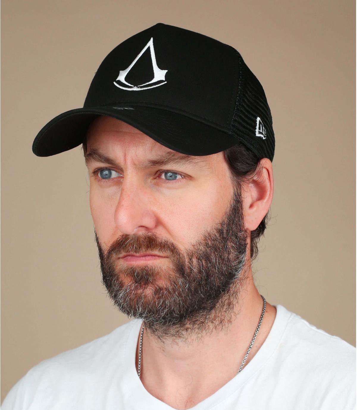 gorra Assassin's Creed negro