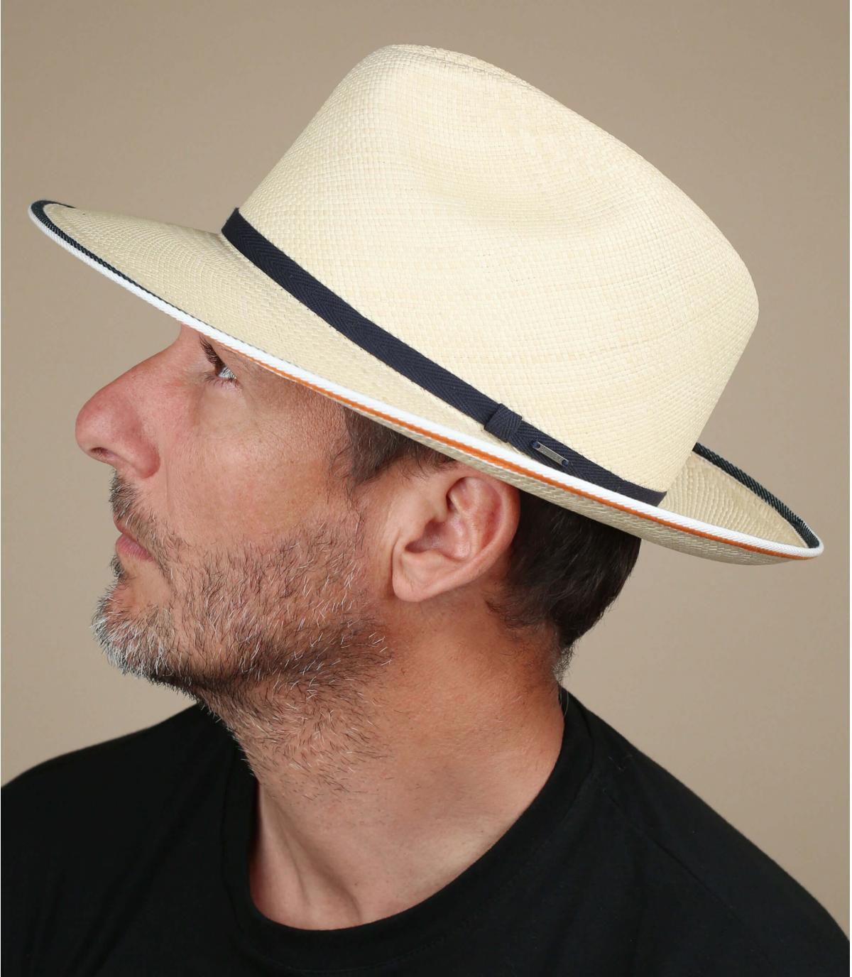 sombrero paja panama Bailey