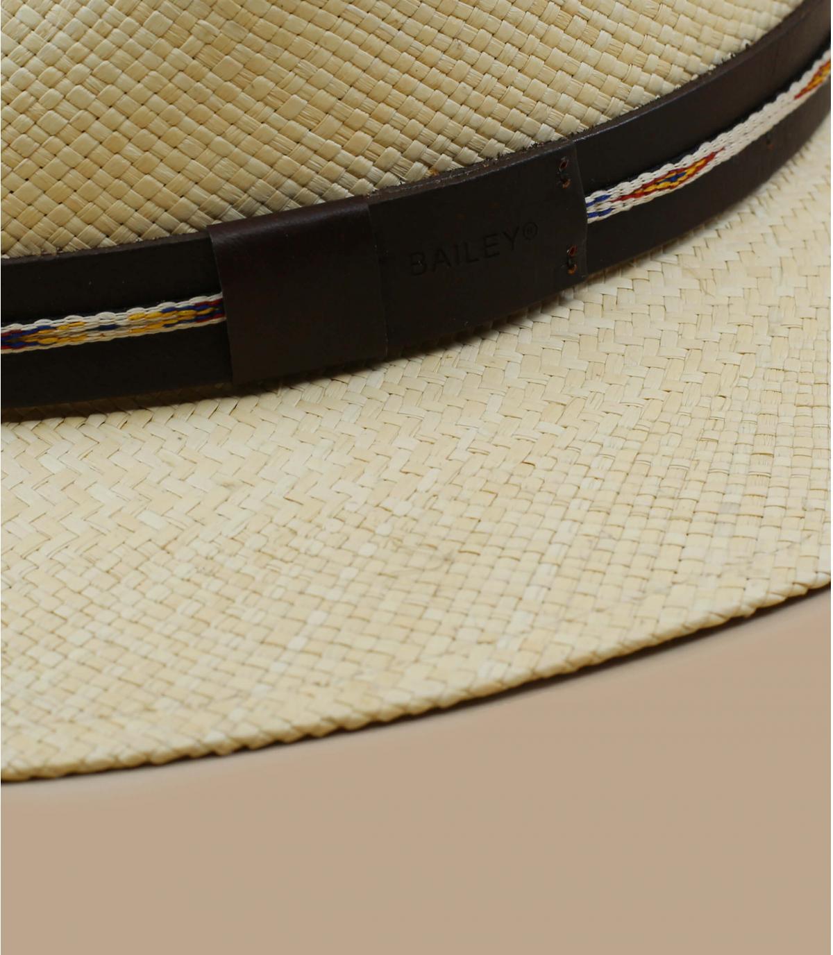 sombrero paja lazo cuero Bailey