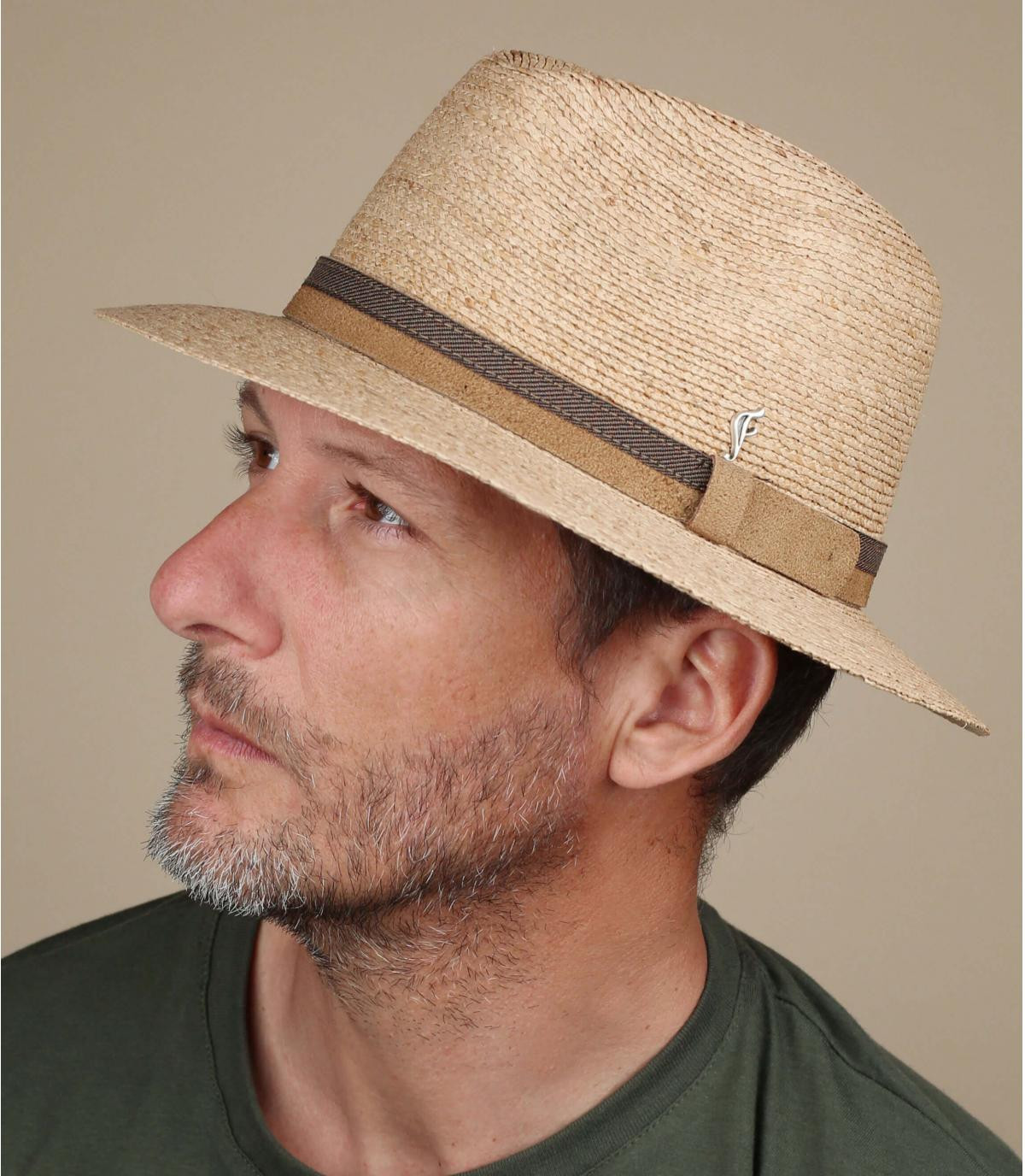 sombrero paja Fléchet