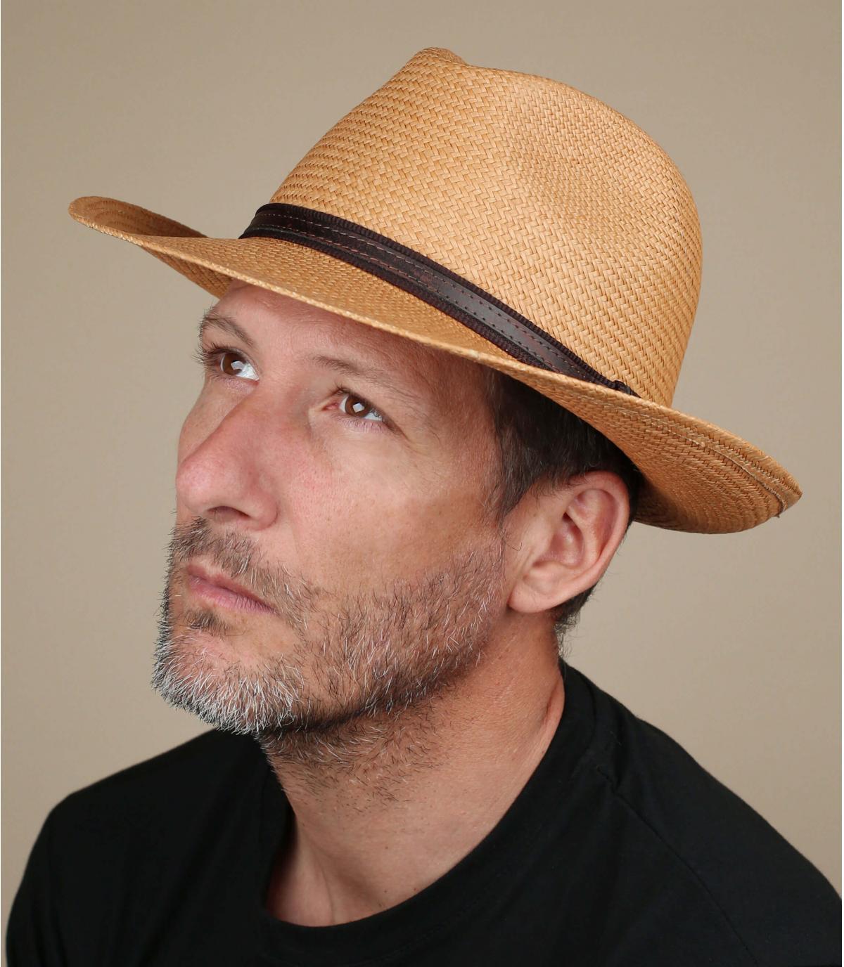 sombrero paja panama