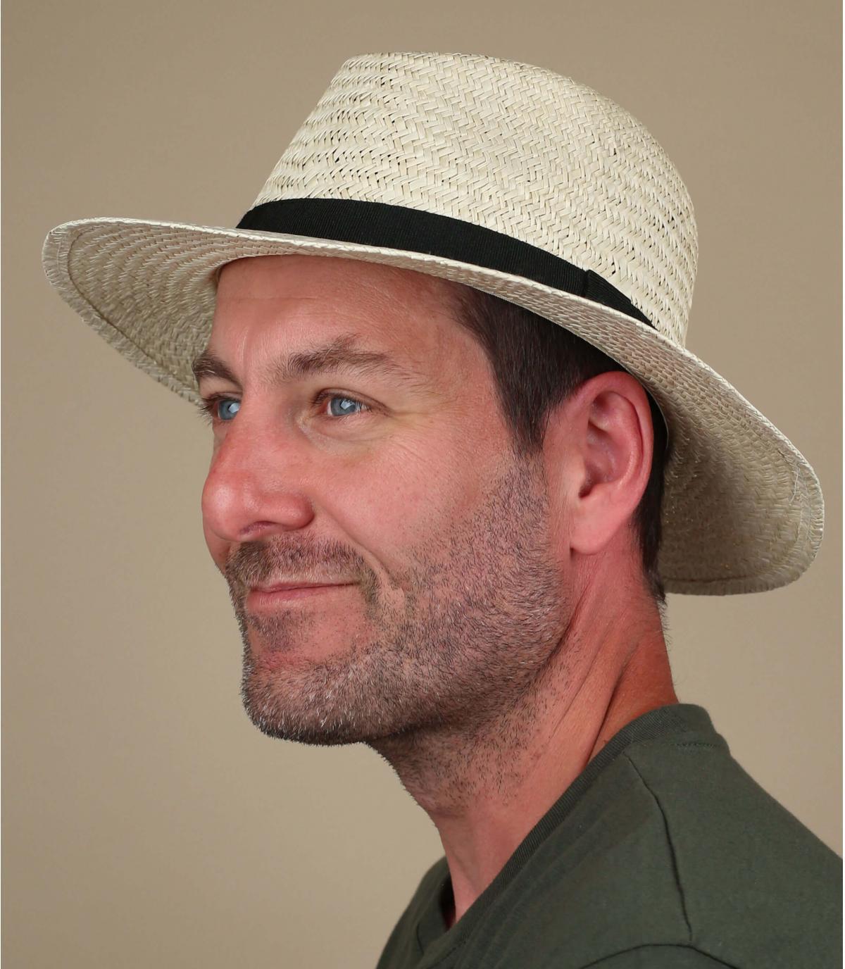 sombrero paja ala ancha