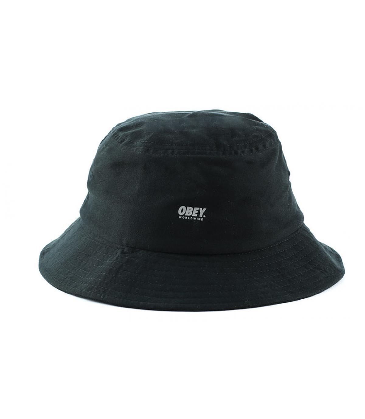 Sombrero bob negro
