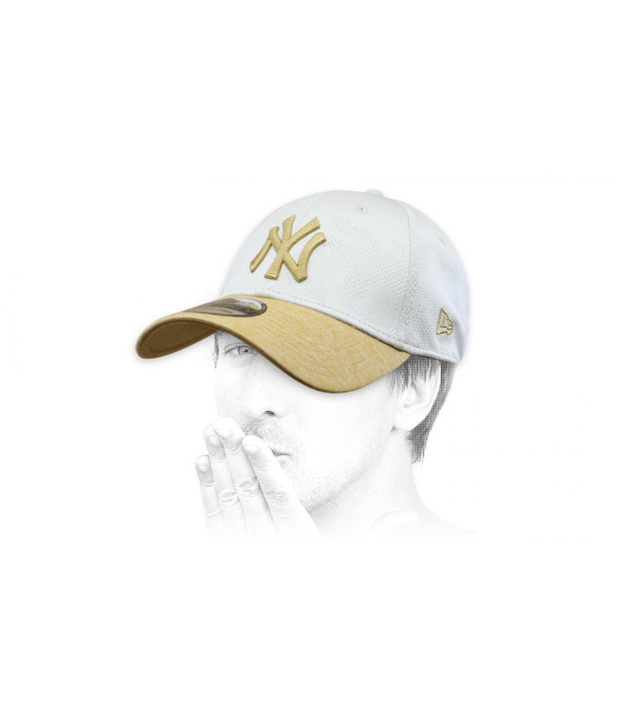 gorra NY beis