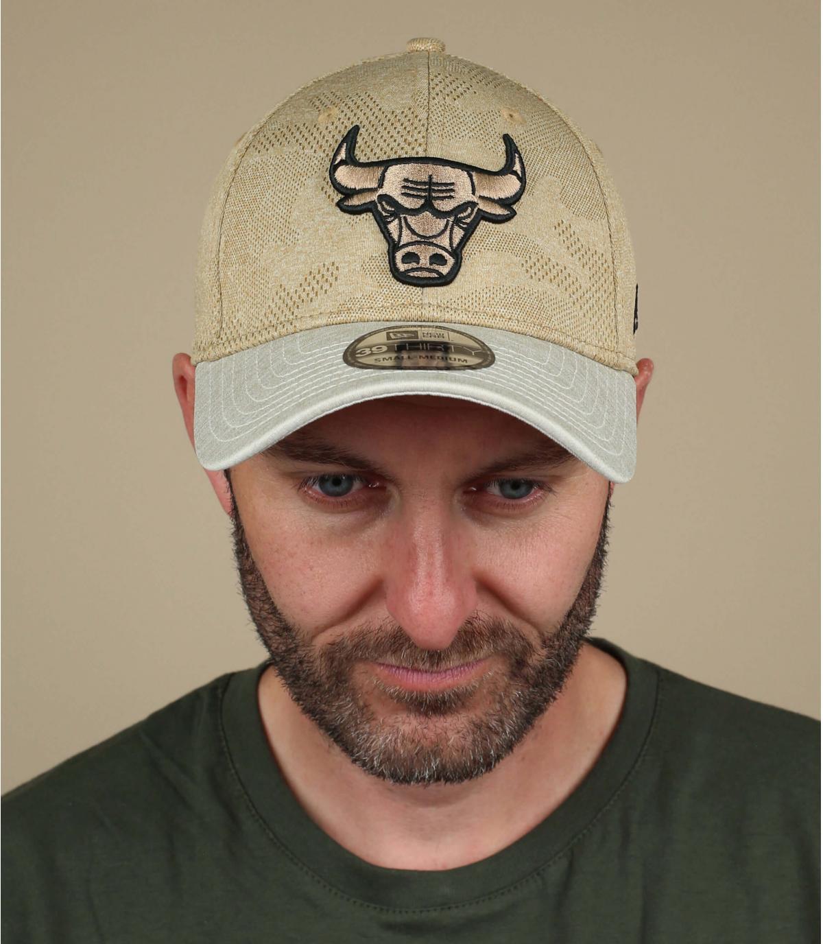 gorra Bulls beis