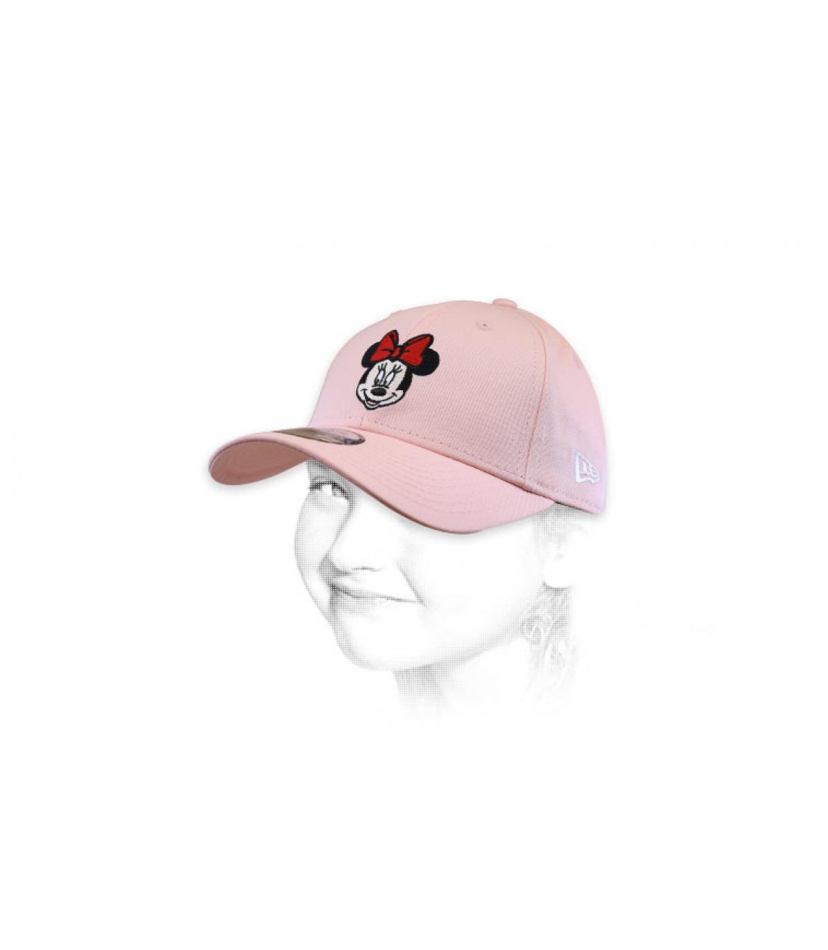 gorraMinnie rosa