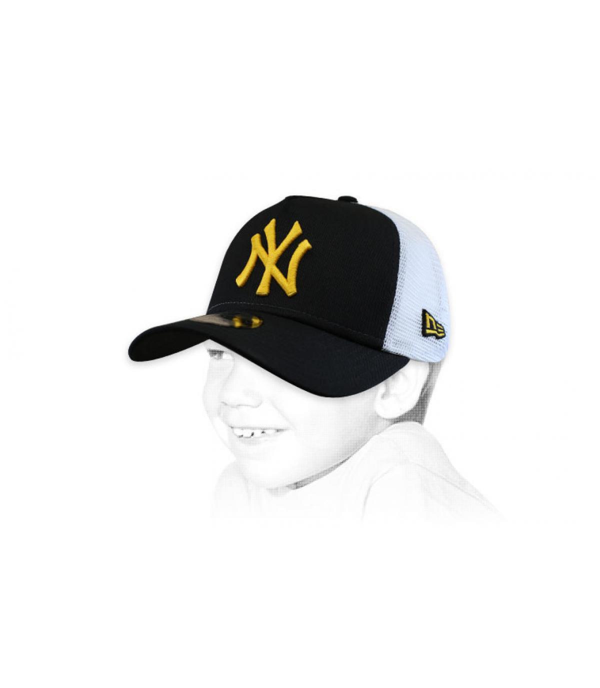 trucker niño NY negro amarillo