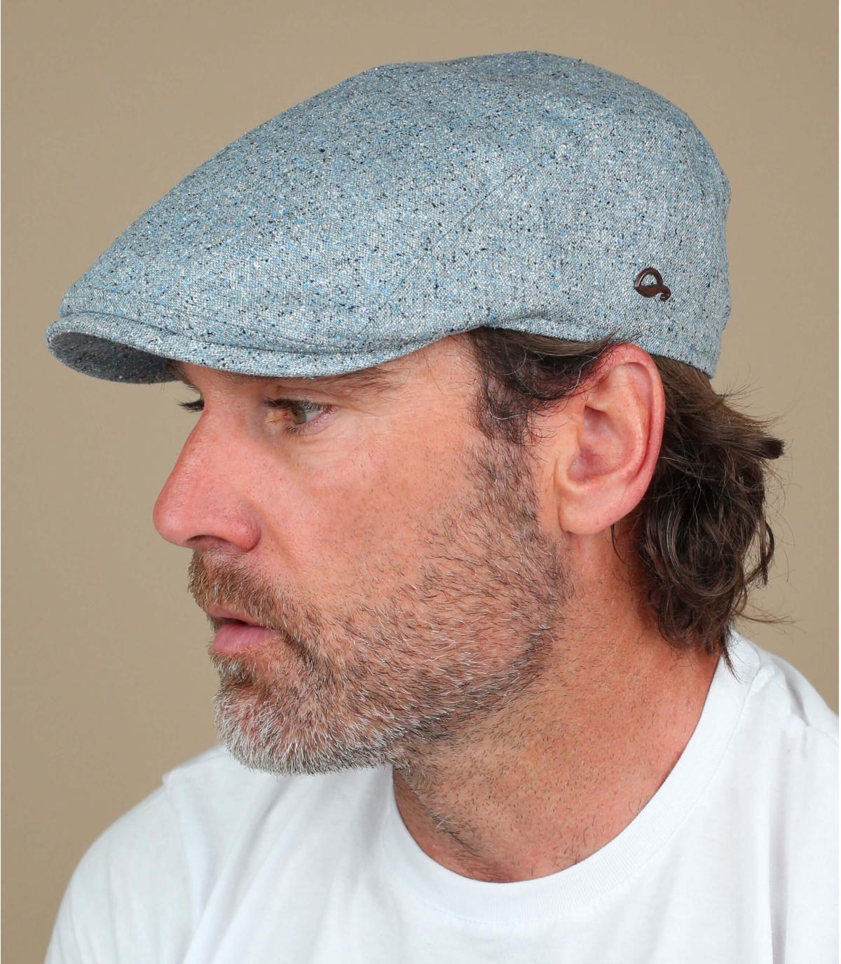 gorra seda azul