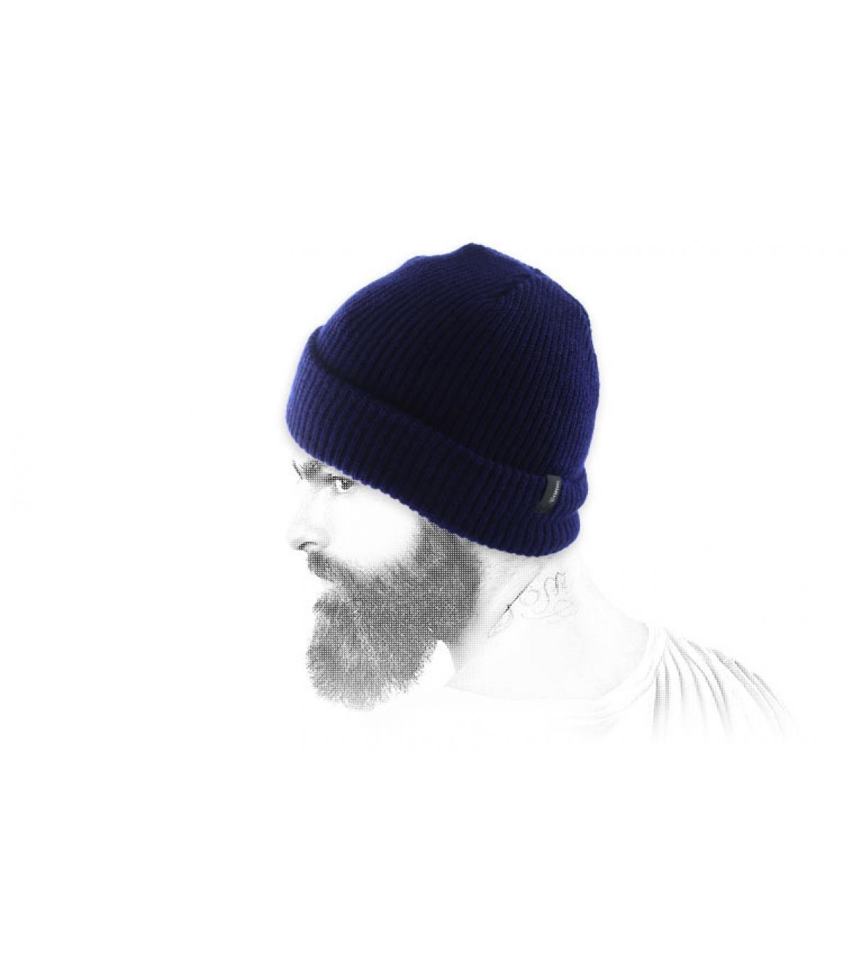 Gorro Brixton azul marine