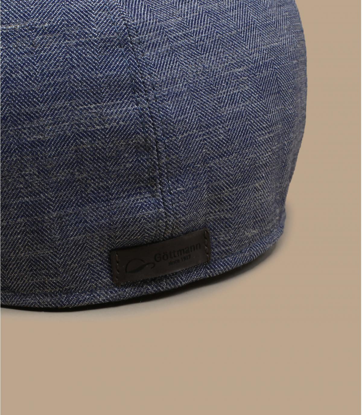 gorra repartidor gris lino