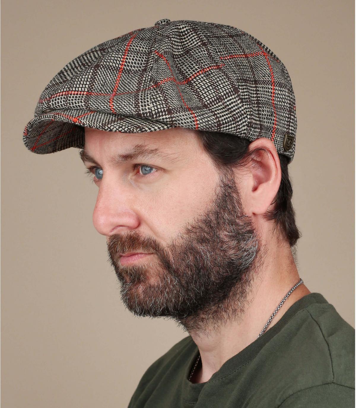 gorra repartidor Brixton cuadros