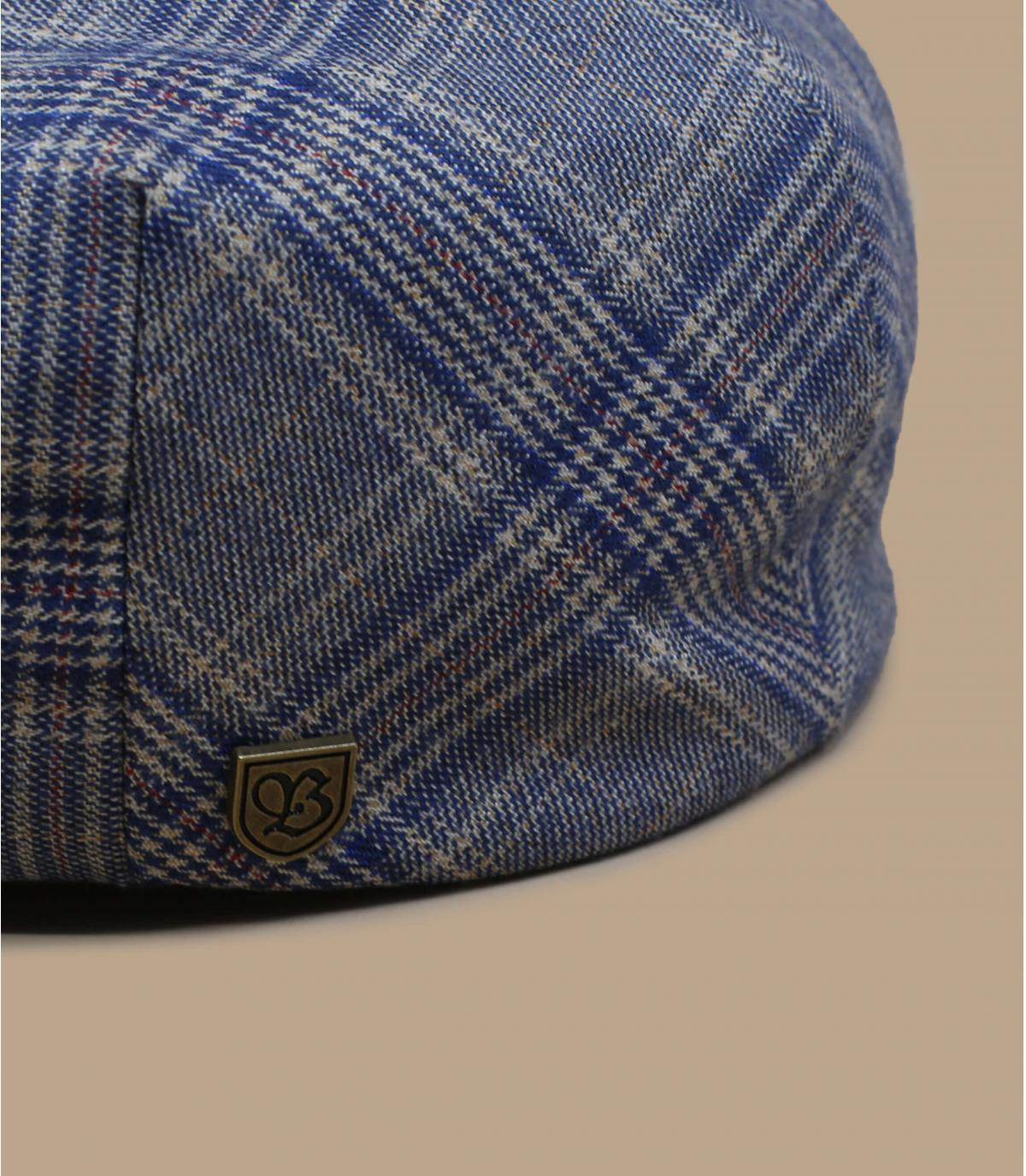 gorra cuadros azul Brixton