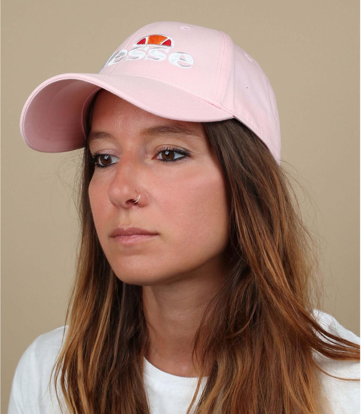 gorra Ellesse rosa