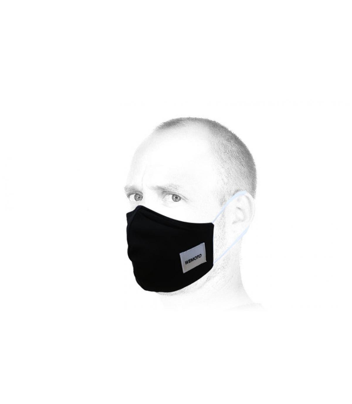 máscara negro Wemoto