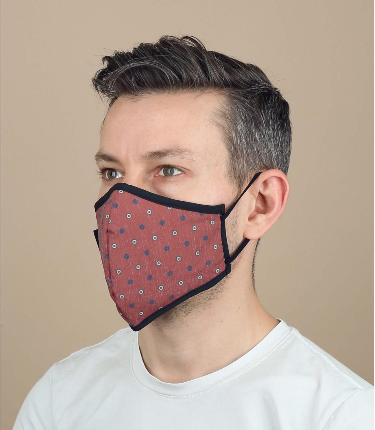 máscara Coronavirus puntos