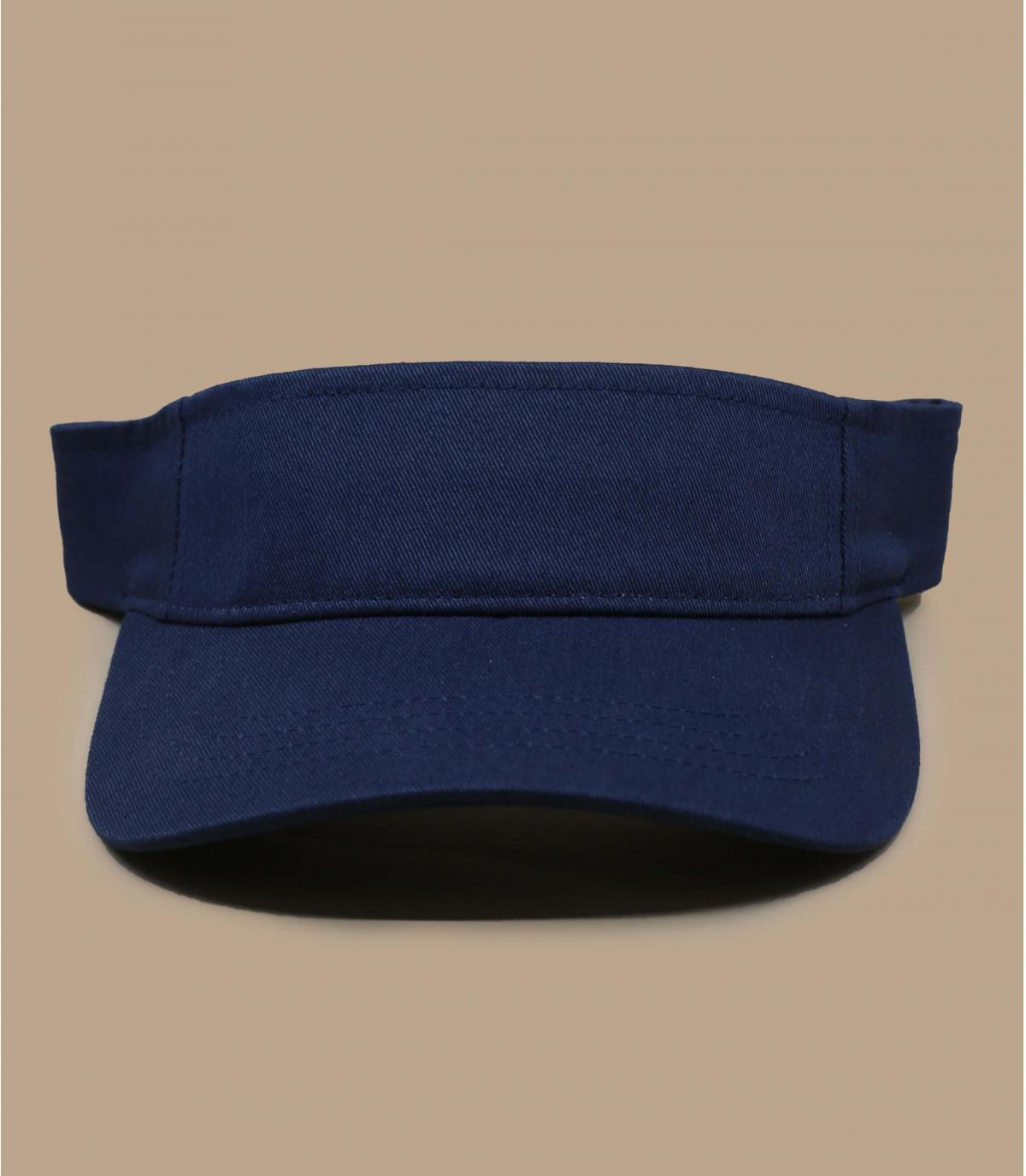 visera azul marino Flexifit