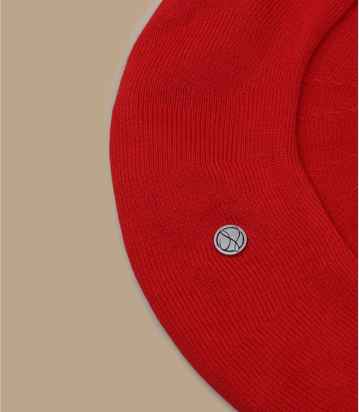 boina algodón rojo