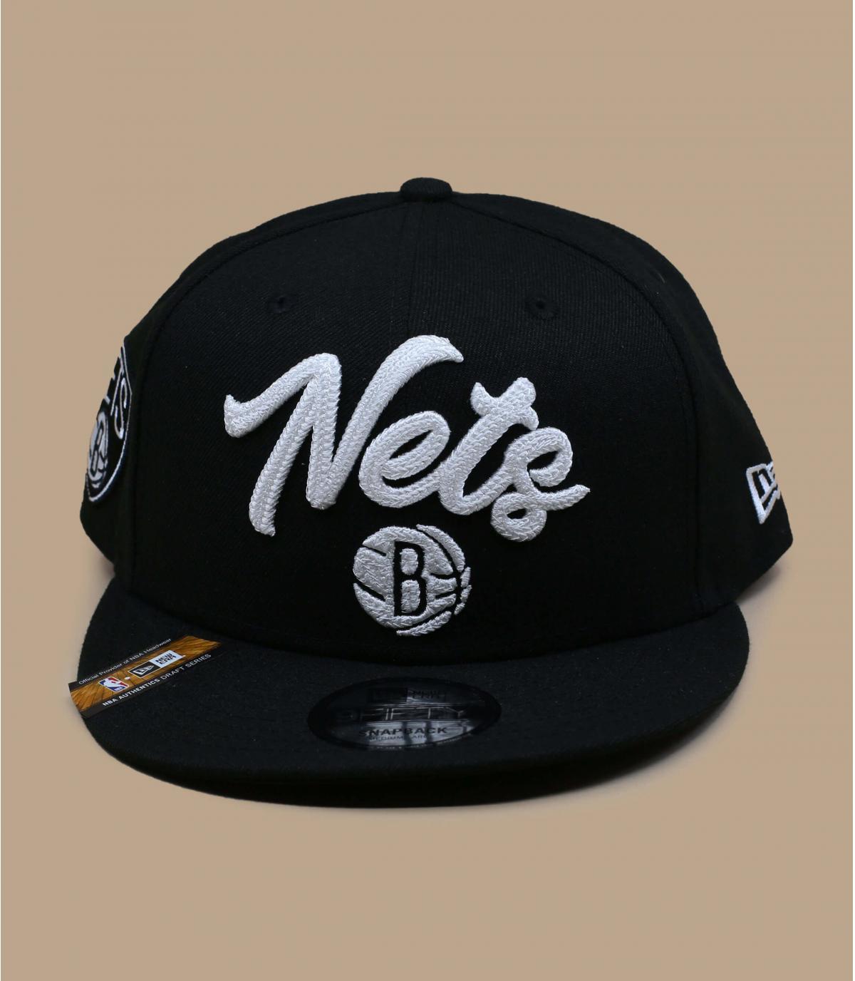 Detalles Snapback NBA Draft Nets 950 imagen 2