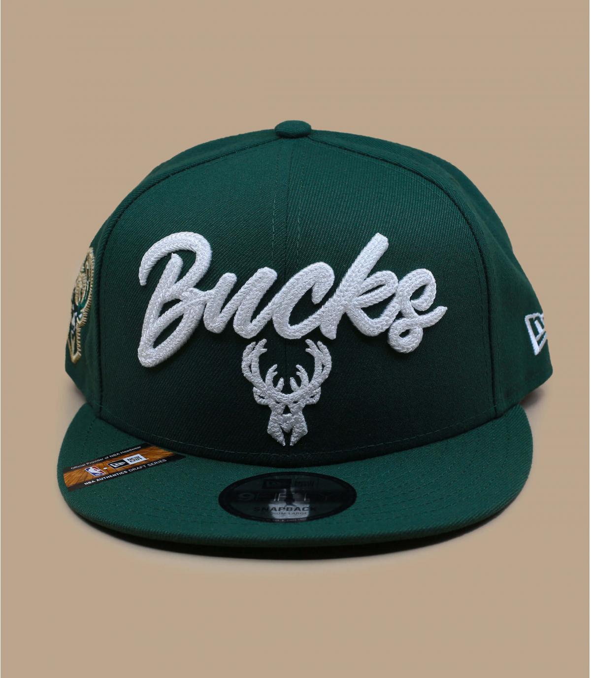Detalles Snapback NBA Draft Bucks 950 imagen 2