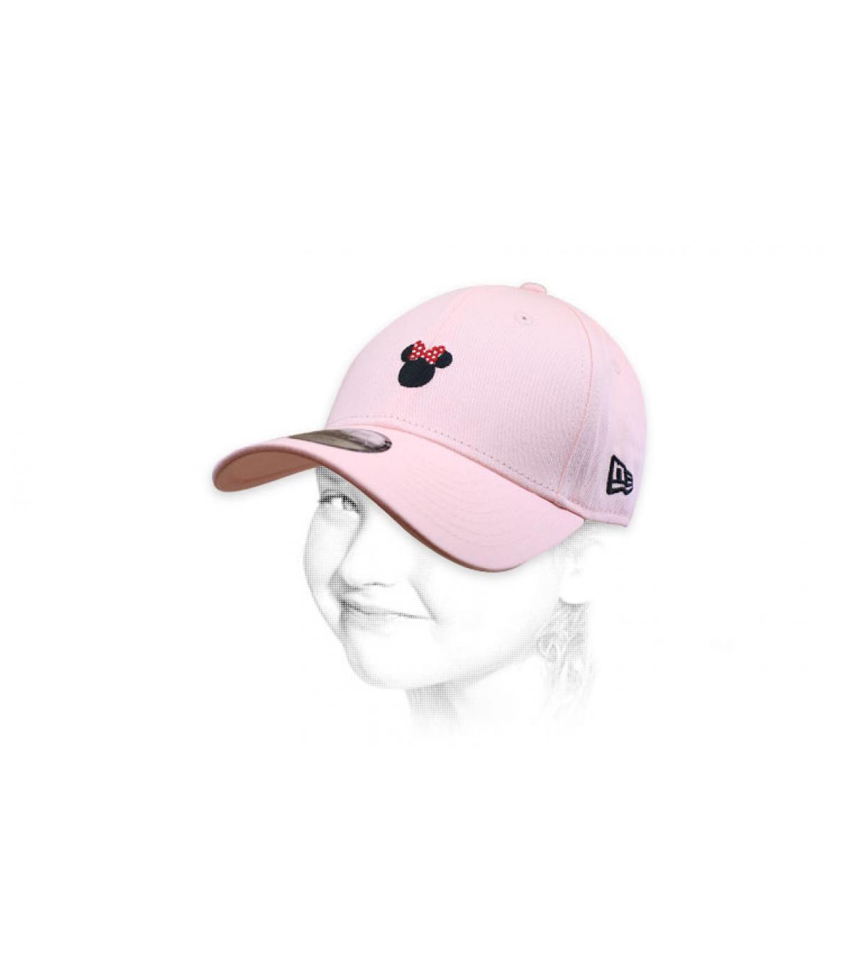 gorra Minnie rosa niña