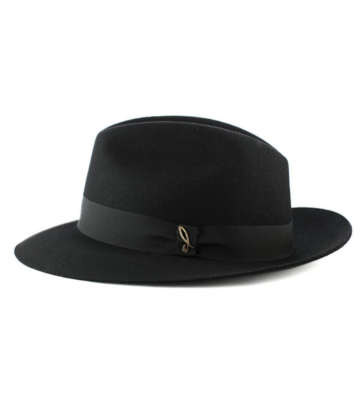 Sombrero feutre Doria negro