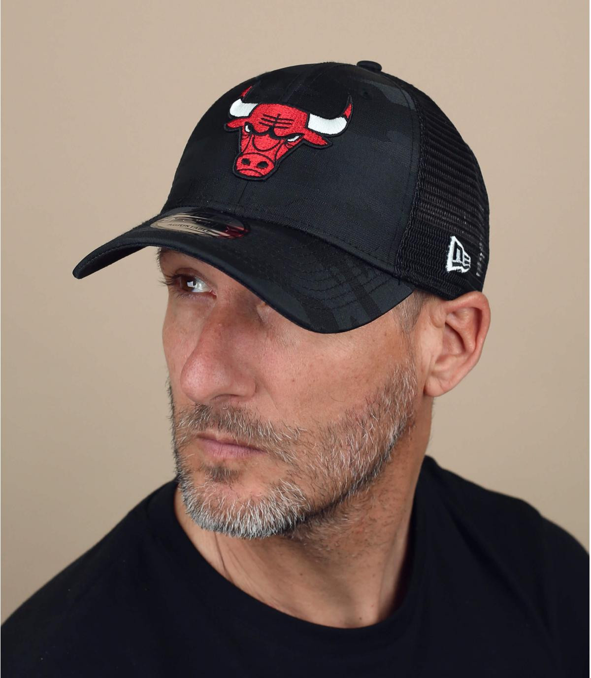 trucker Bulls negro