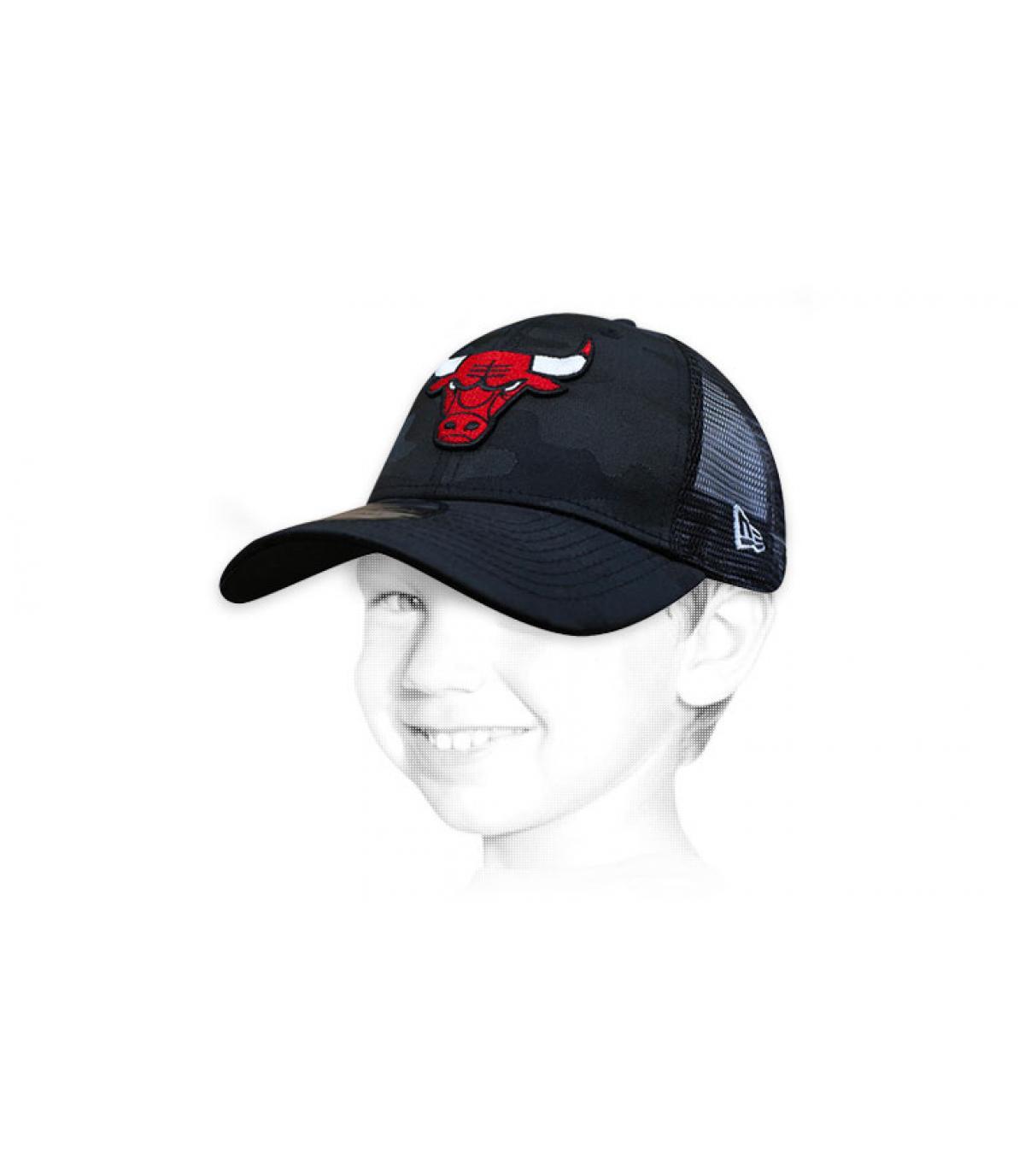 trucker niño Chicago Bulls