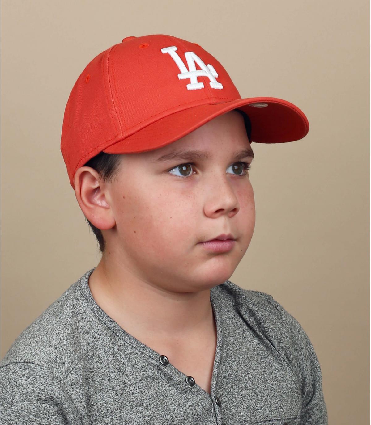 gorra infantil LA rojo