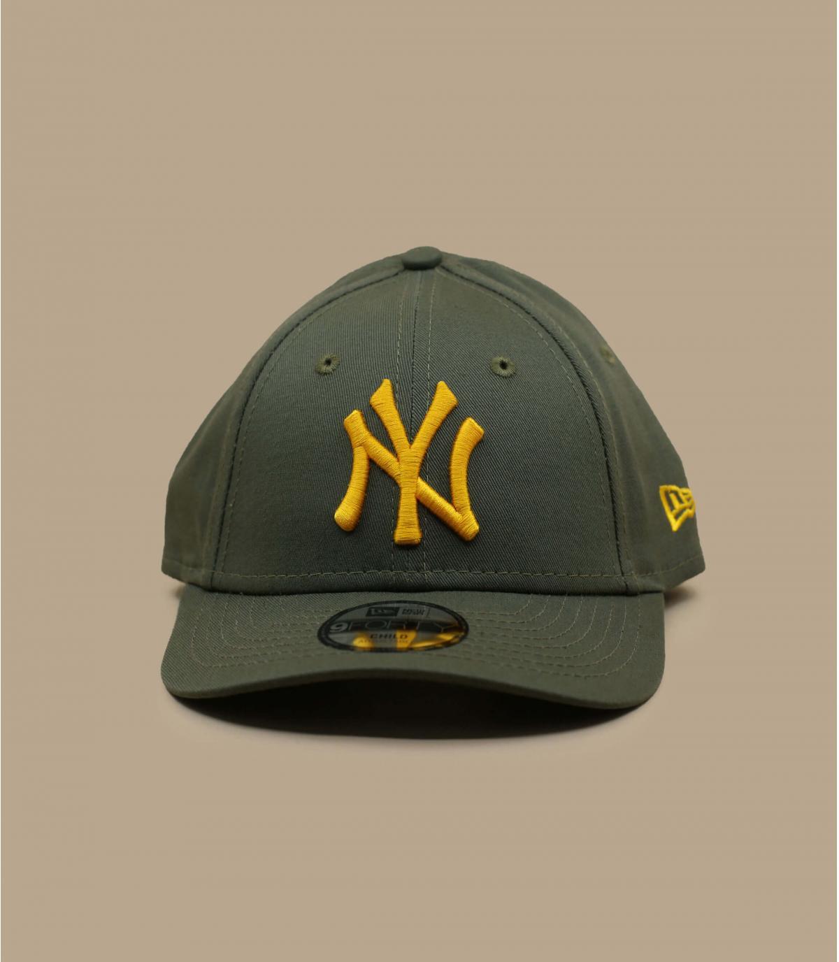 gorra infantil NY verde amarillo