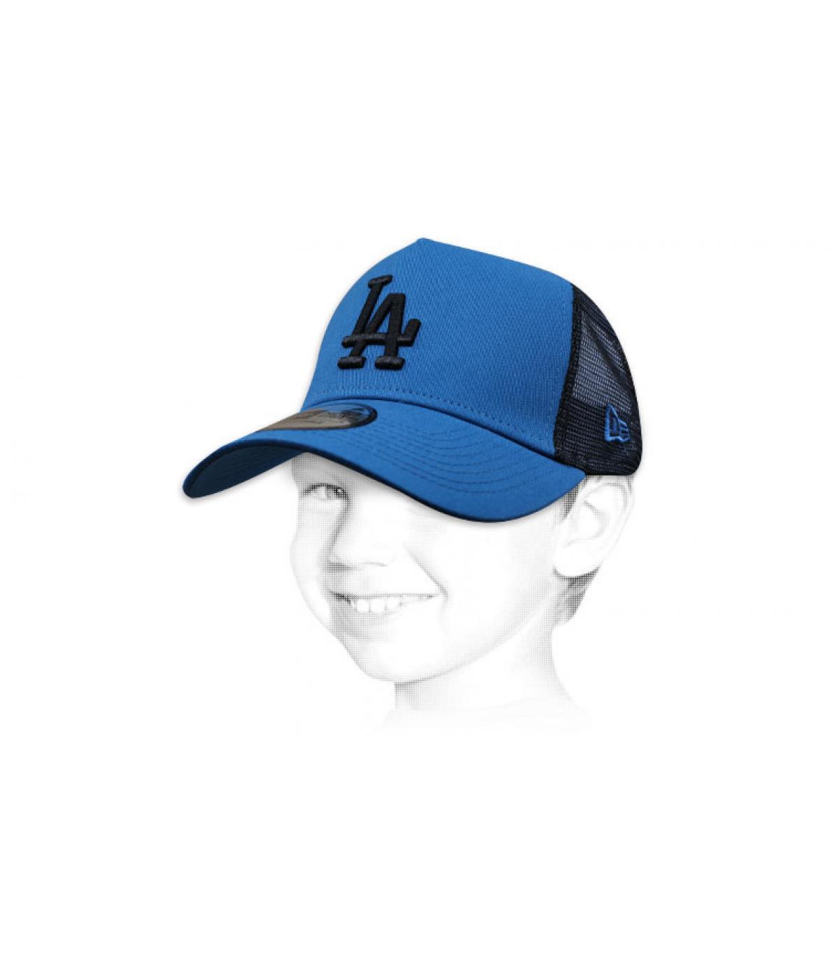 trucker LA niño azul