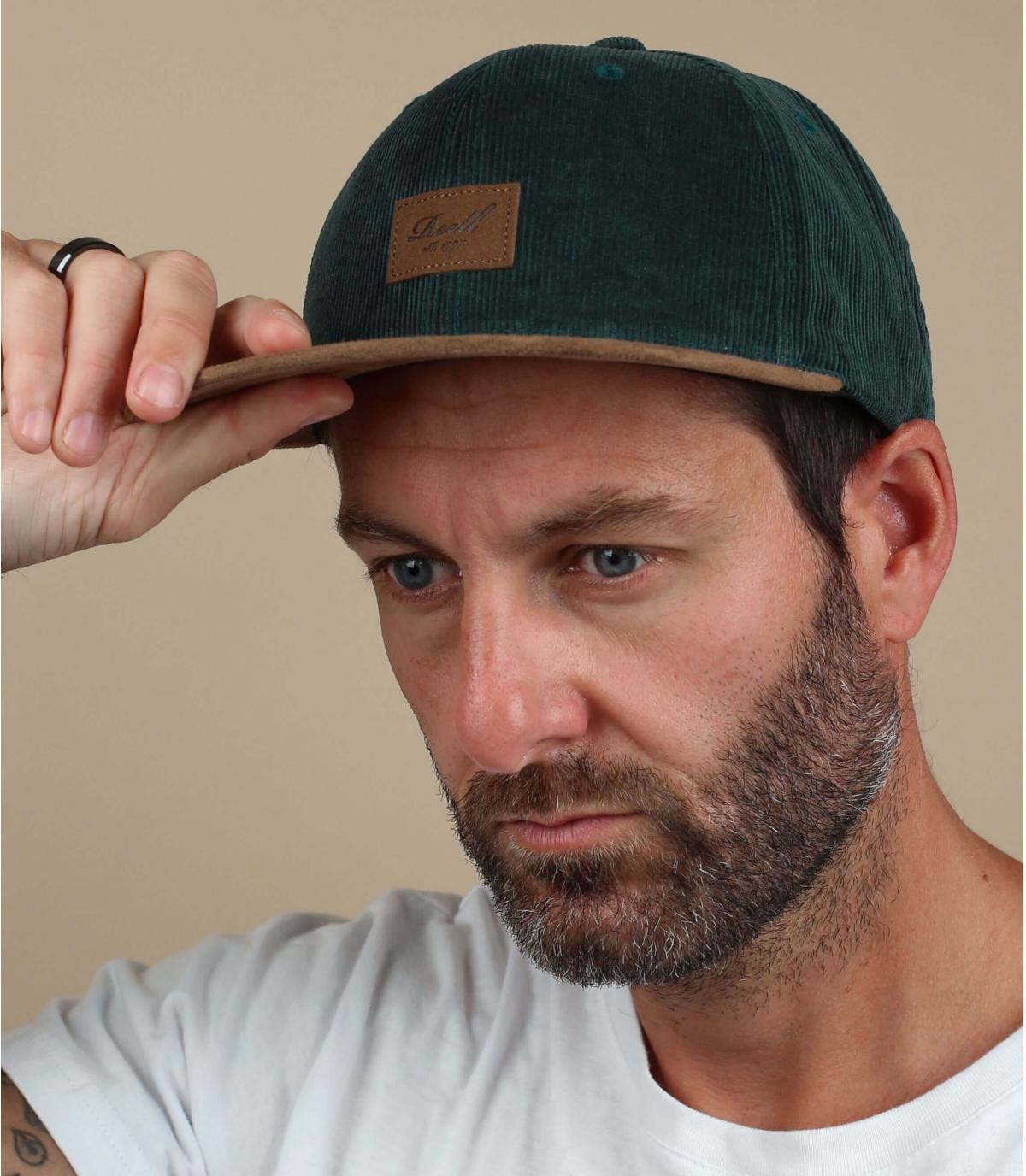 gorra verde Reell pana