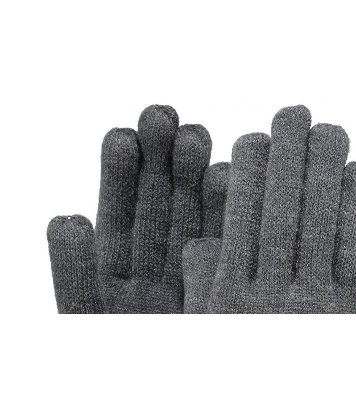 Guantes mujer gris