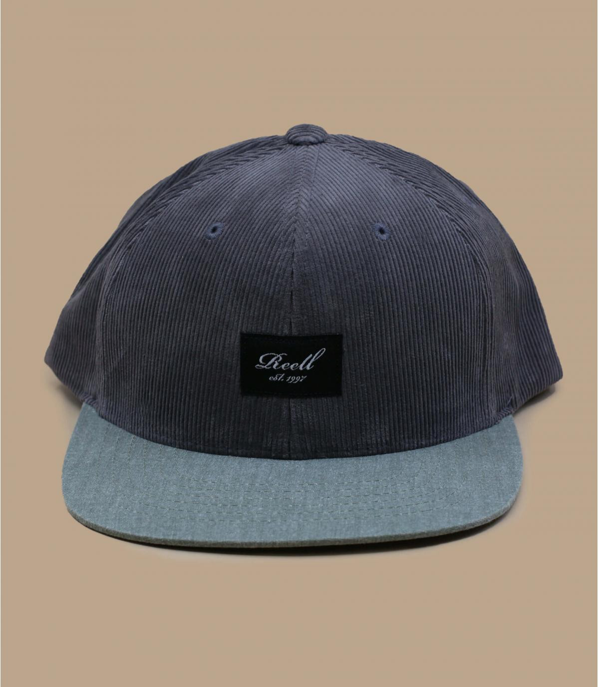 gorra pana gris Reell