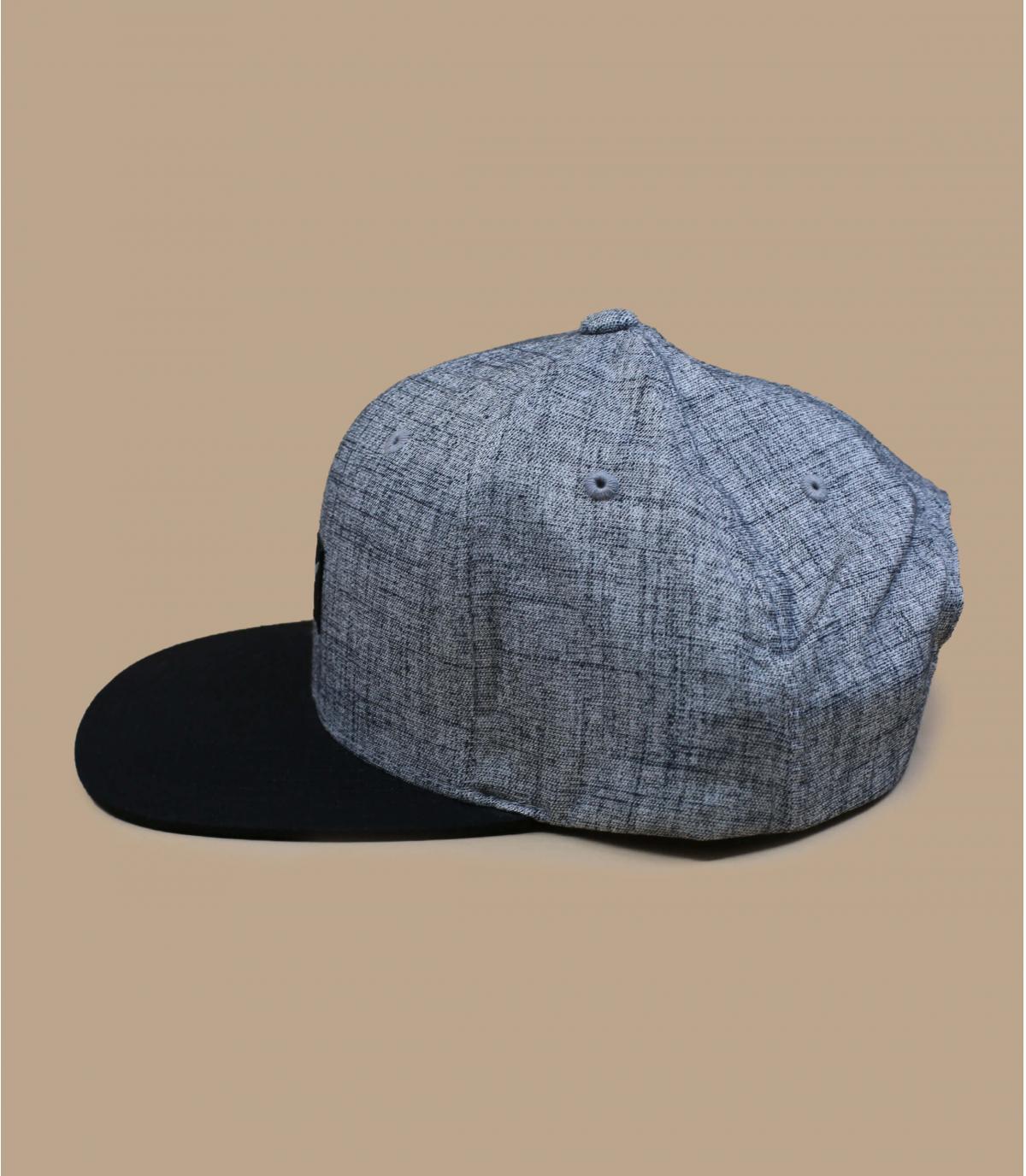 Detalles Pitchout heather grey washed black imagen 4