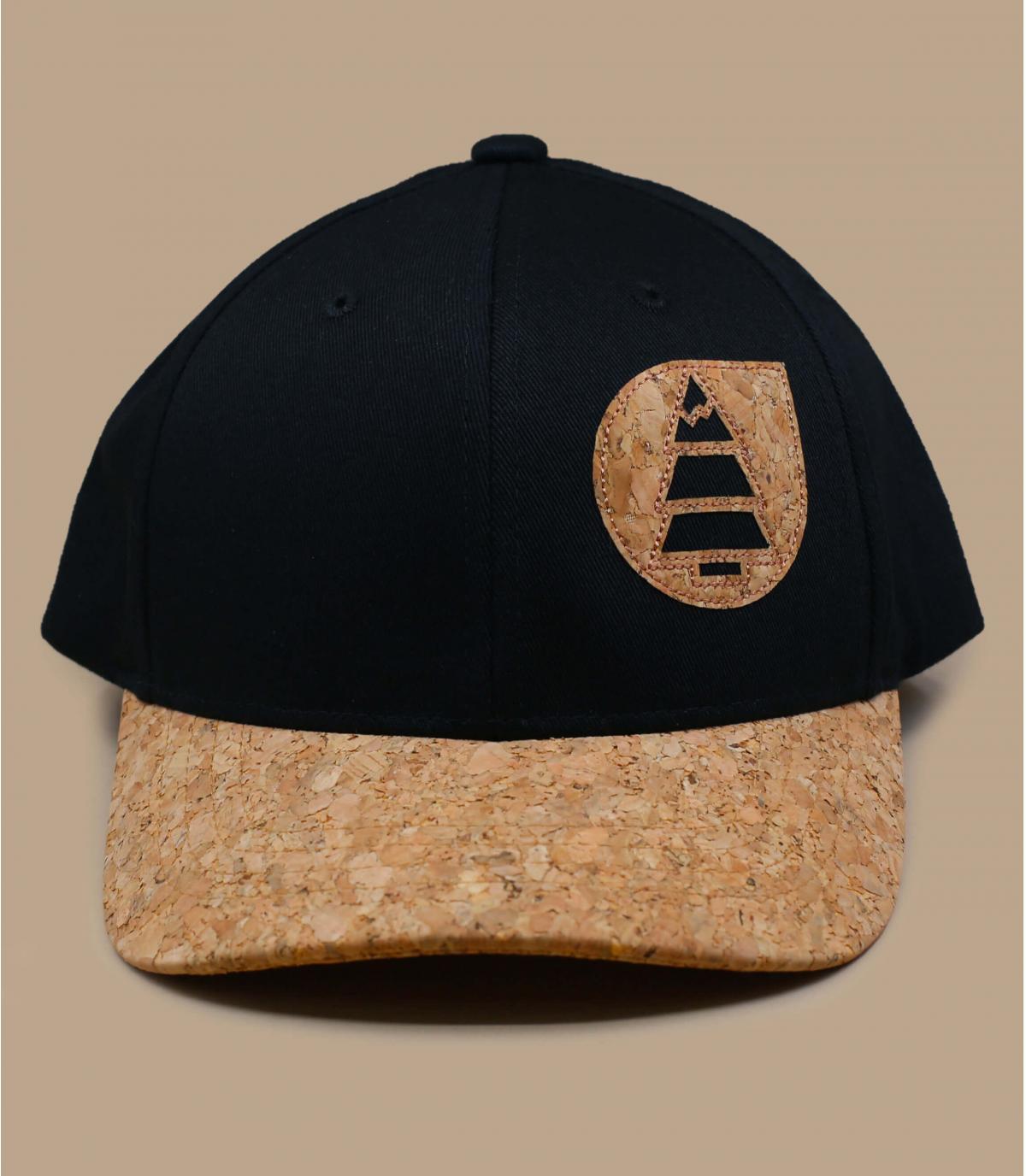 gorra niño Picture negro corcho