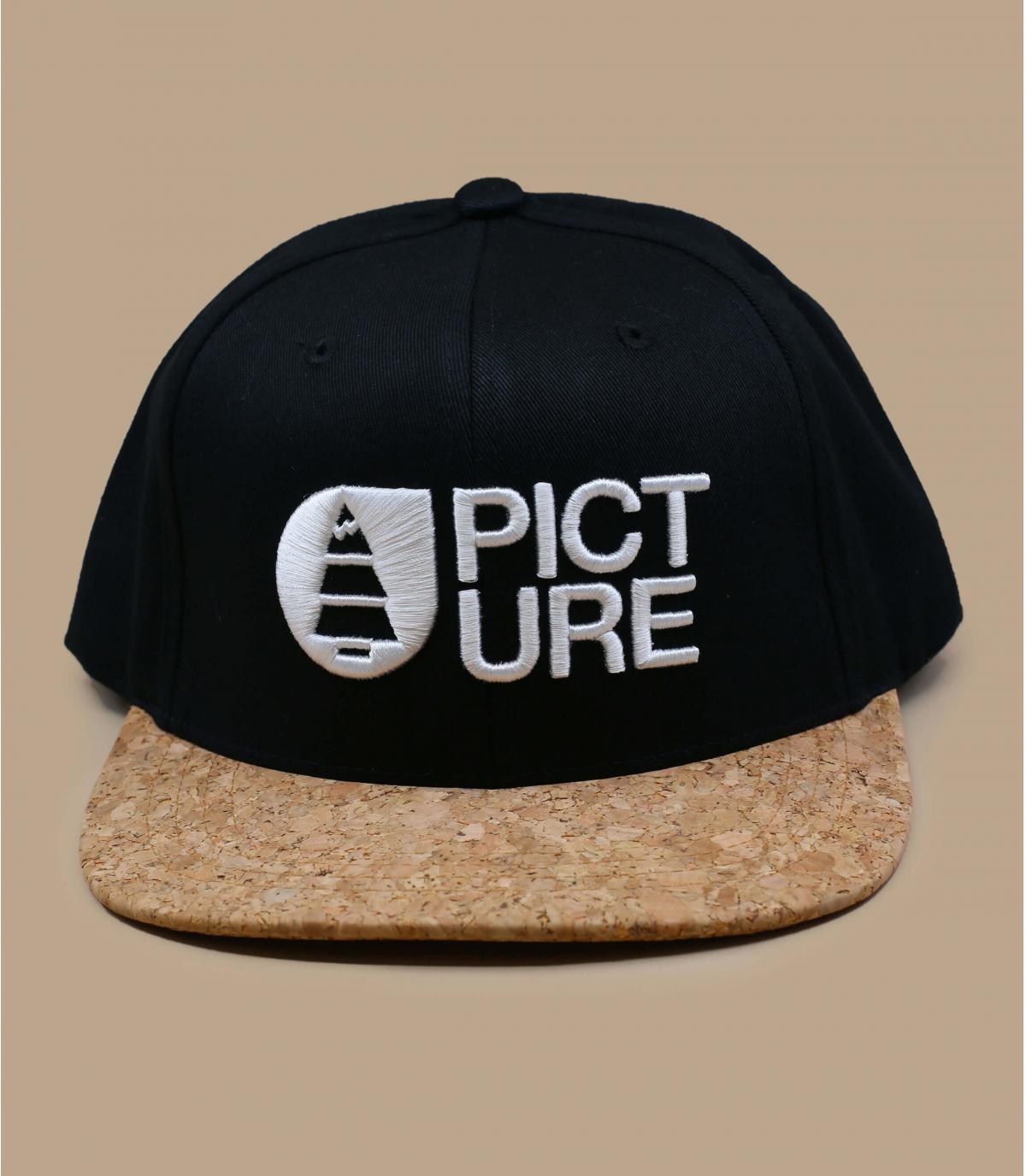 gorra Picture negro corcho